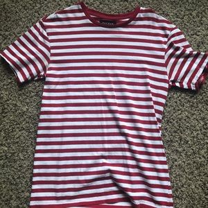 Red Striped Pac Sun T-shirt